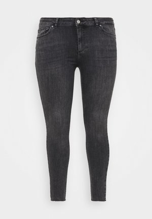 PCDELLY - Jeans Skinny Fit - dark grey denim