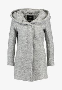 ONLY Petite - ONLSEDONA COAT - Korte frakker - light grey melange - 5