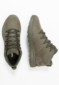 Timberland - SPRINT TREKKER MID - Lace-up ankle boots - dark green - 1