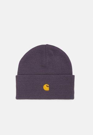CHASE BEANIE UNISEX - Bonnet - purple/gold