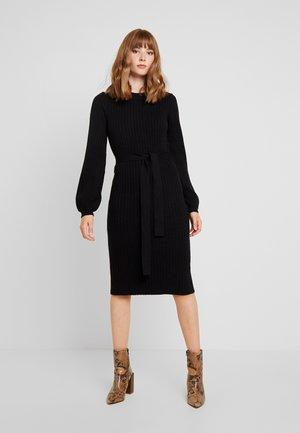 VMSVEA O NECK DRESS - Jumper dress - black
