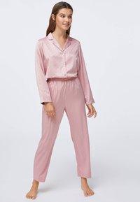 OYSHO - MINI HEARTS  - Pyjama bottoms - rose - 0