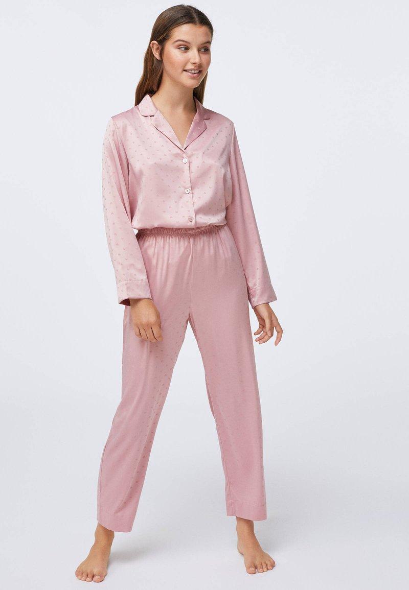 OYSHO - MINI HEARTS  - Pyjama bottoms - rose