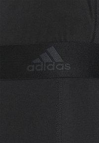 adidas Performance - LONG TECHFIT PRIMEGREEN SPORTS LEGGINGS - Tights - black - 4