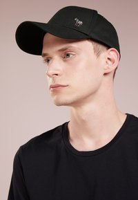 PS Paul Smith - MEN CAP ZEBRA - Cap - black - 1