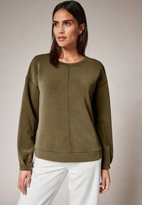 comma casual identity - Sweatshirt - khaki - 0
