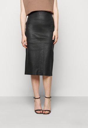 BETHAN MIDI SKIRT - Pencil skirt - black