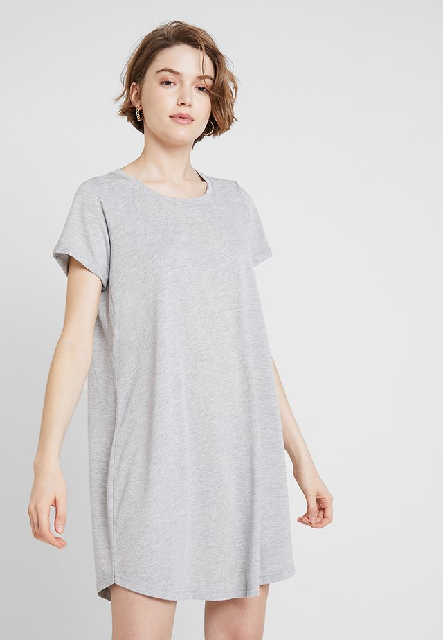 TINA DRESS - Sukienka z dżerseju - grey marle