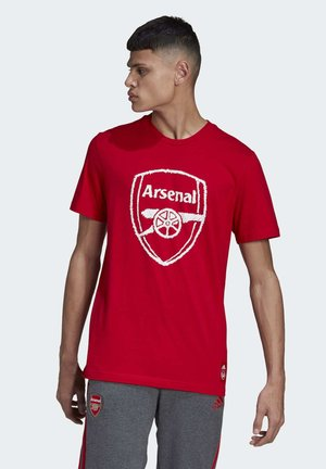 ARSENAL DNA GRAPHIC T-SHIRT - Club wear - red