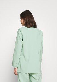 Part Two - Short coat - granite green - 2