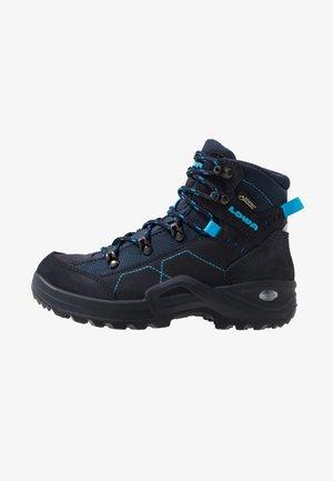KODY III GTX - Hiking shoes - navy/türkis