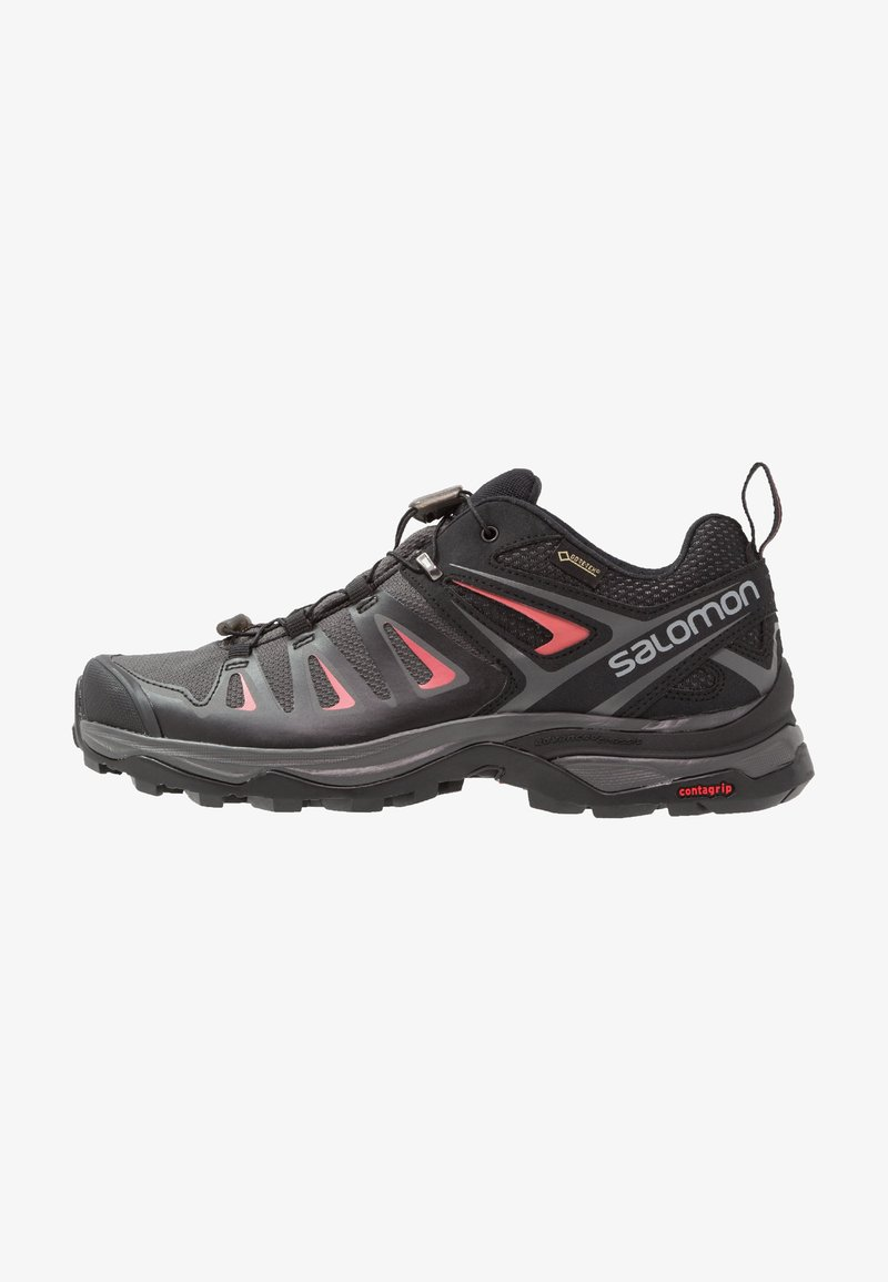 Salomon - X ULTRA 3 GTX  - Hiking shoes - magnet/black/mineral red