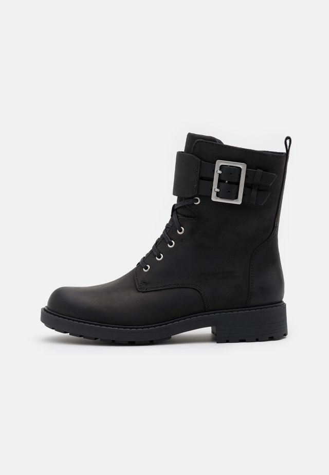 ORINOCO LACE - Bottines à lacets - black