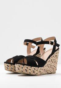 Anna Field - Korolliset sandaalit - black - 4