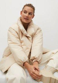 Mango - NATA - Winter coat - ecru - 3