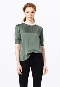 HALLHUBER - Print T-shirt - seegrün - 0