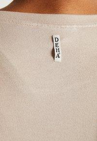 Deha - FELPA GIROCOLLO - Top sdlouhým rukávem - ceramic - 5