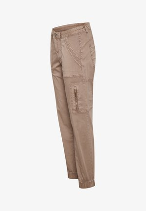 Slim fit jeans - cognac