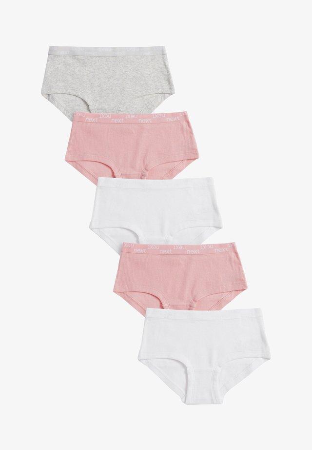 5 PACK - Kalhotky - pink