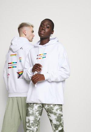 PRIDE UNISEX - Sweatshirt - white