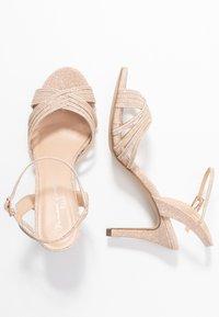 Paradox London Pink - HARSHA - High heeled sandals - champagne - 3