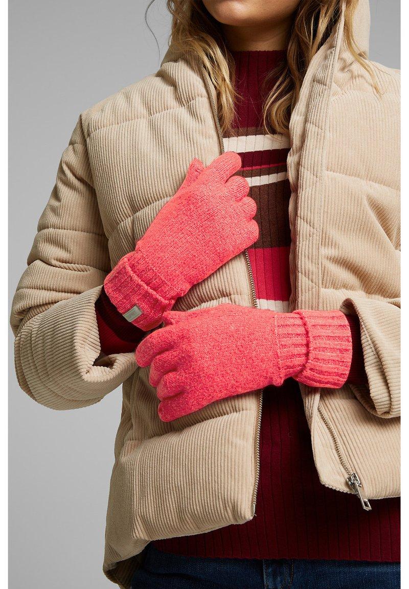 Esprit - Gloves - pink fuchsia