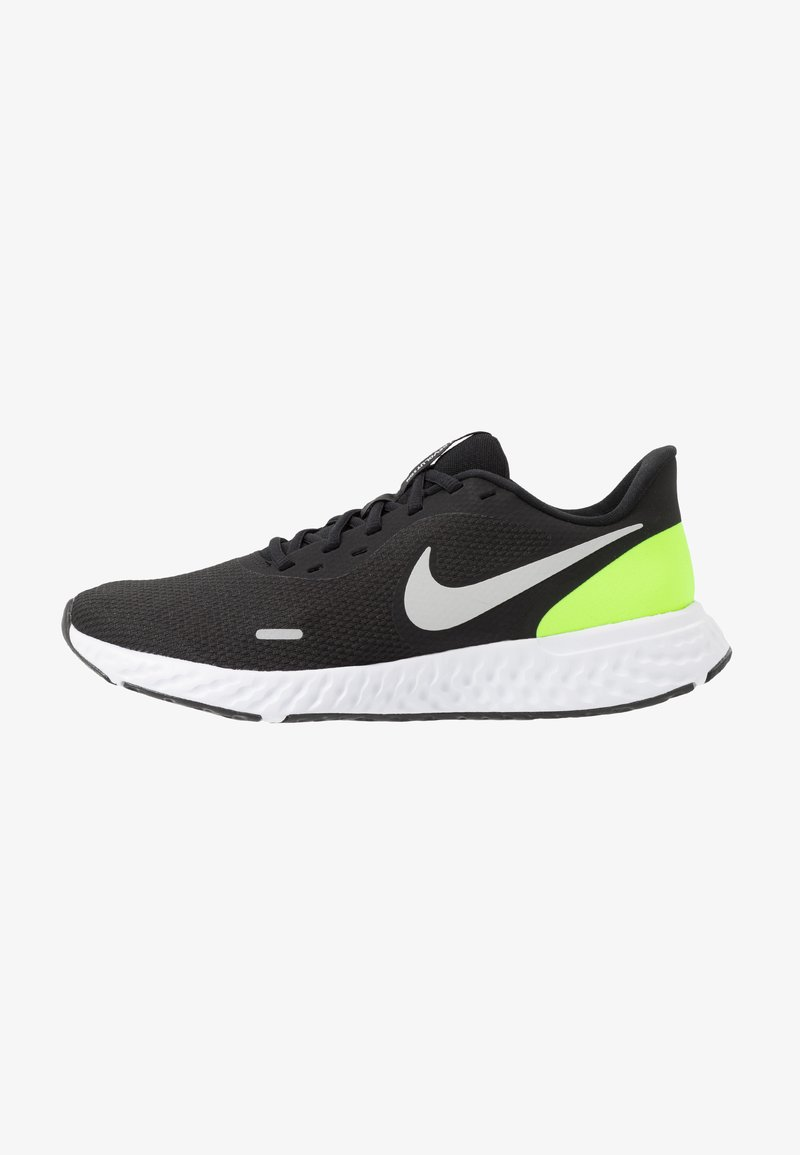 Nike Performance - REVOLUTION 5 - Hardloopschoenen neutraal - black/grey fog/volt/white
