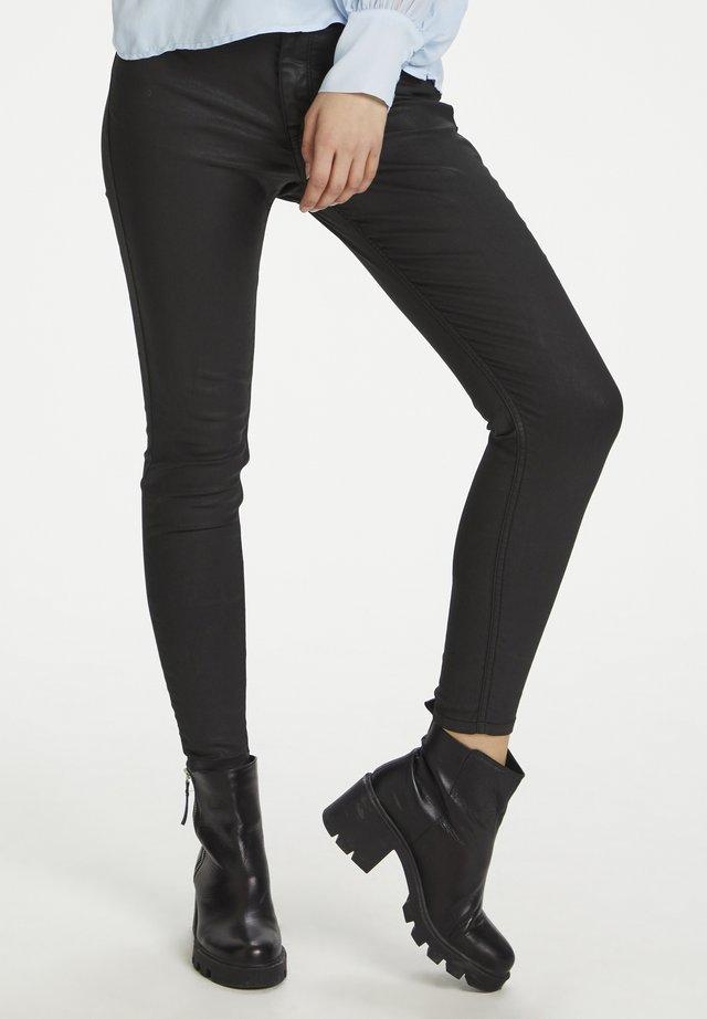 HUNTER DHSHANE  - Slim fit -farkut - black