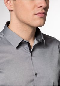 Eterna - EXTRA SLIM FIT  - Formal shirt - grey - 2
