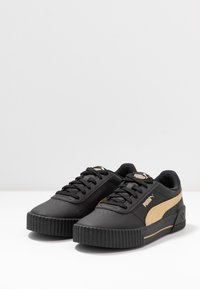 Puma - CARINA META20 - Sneaker low - black/team gold - 4