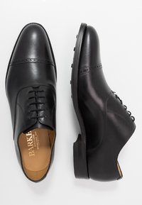Barker - BURFORD - Smart lace-ups - black - 1