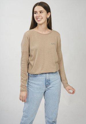 CELESTE - Långärmad tröja - tan melange