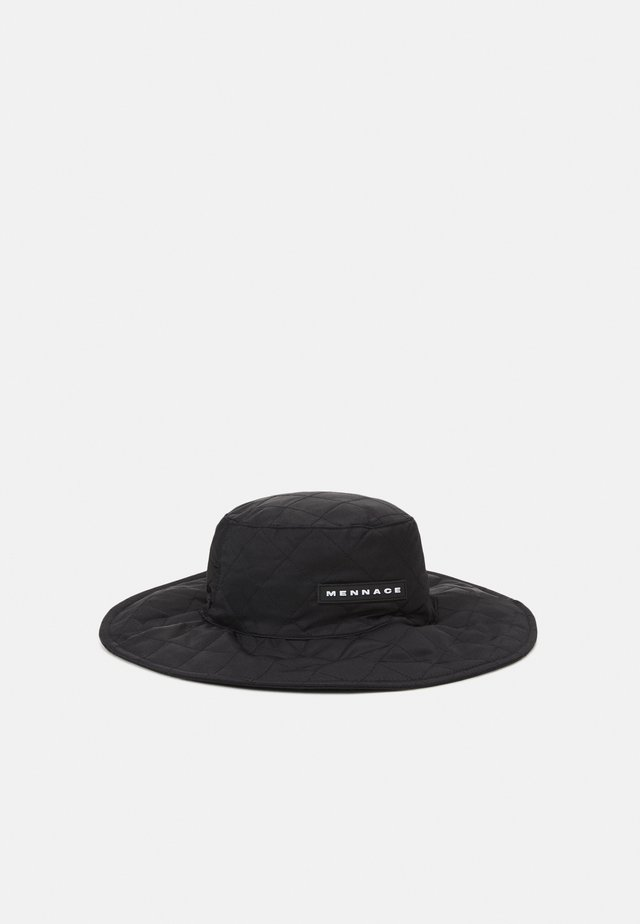 QUILTED FISHERMAN HAT UNISEX - Hatt - black