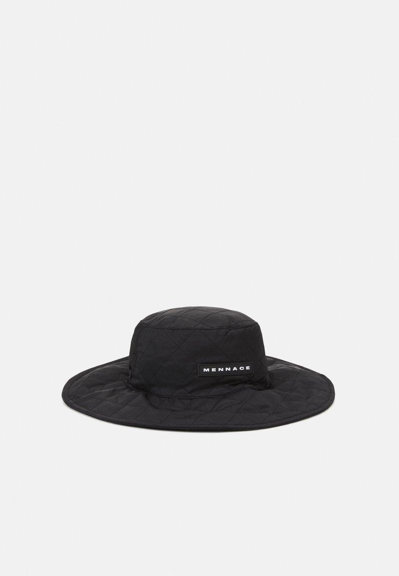 Mennace - QUILTED FISHERMAN HAT UNISEX - Hat - black
