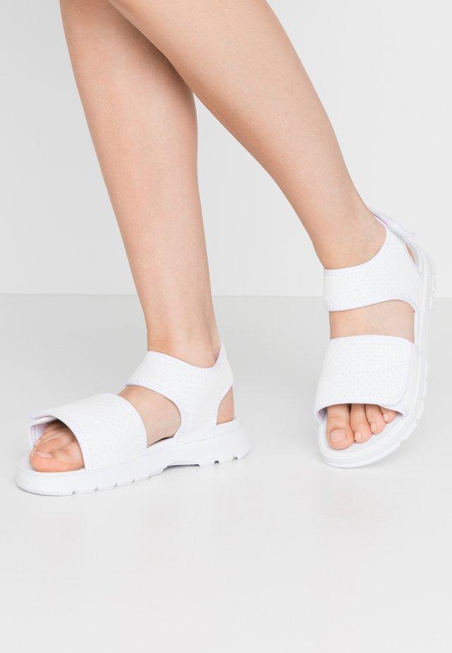 WOMENS ORIGINAL OUTDOOR - Sandały - white