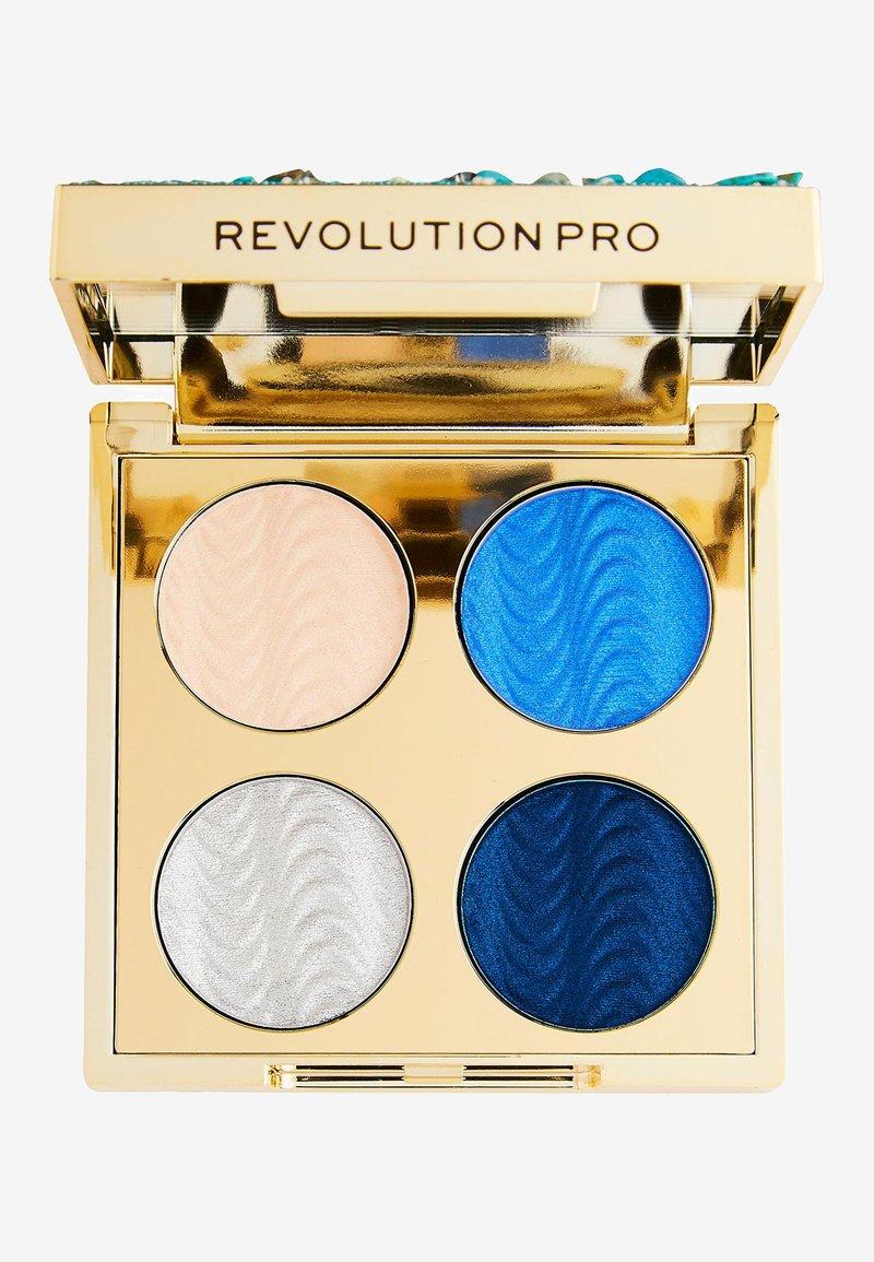 Revolution PRO - ULTIMATE EYE LOOK OCEAN TREASURE PALETTE - Eyeshadow palette - -