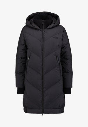 Down coat - tnf black