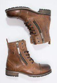 Pepe Jeans - MELTING  - Lace-up ankle boots - tobacco - 1