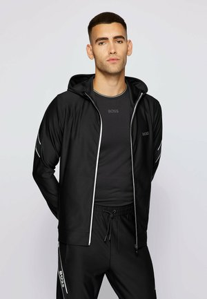 SICON GYM - Sweater met rits - black