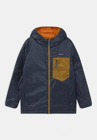 Patagonia - BOYS REVERSIBLE HOODY - Down jacket - desert orange - 2