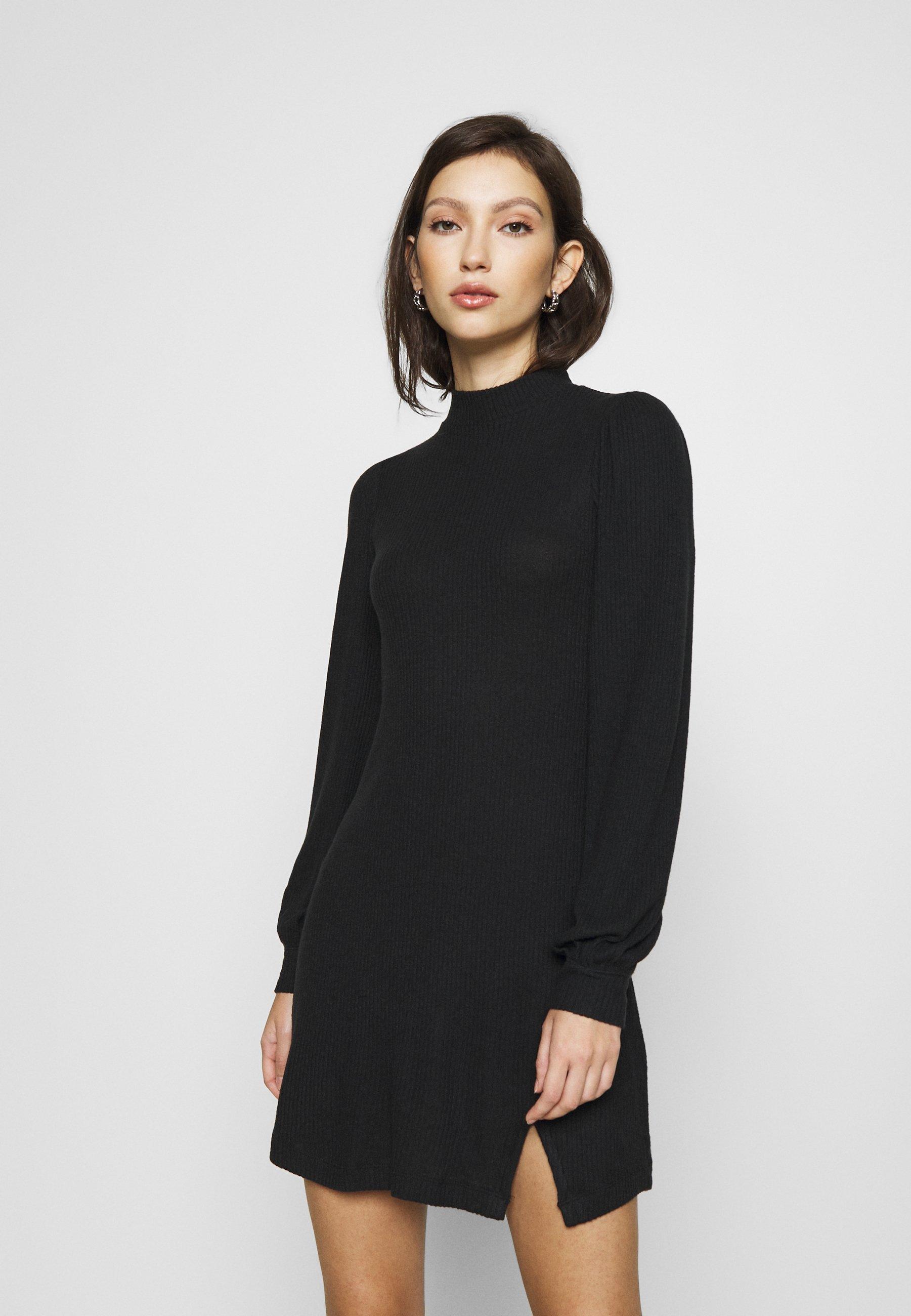 Femme COZY SHORT DRESS - Robe pull