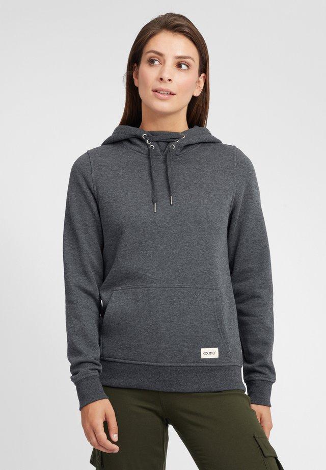 OWENA - Hoodie - dark grey melange