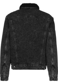 Levi's® - TYPE 3 SHERPA TRUCKER - Veste en jean - black - 3