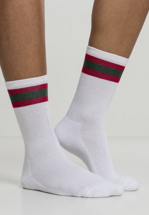2 PACK - Ponožky - white/firered/green