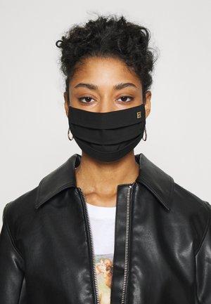 SOLID LOGO - Látková maska - black