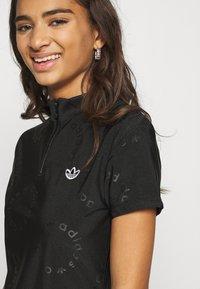 adidas Originals - DRESS - Sukienka z dżerseju - black - 5