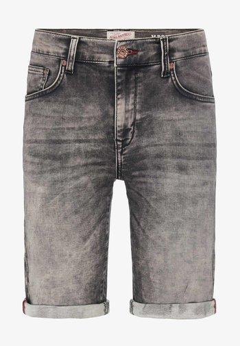 Denim shorts - ash grey