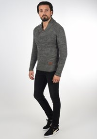 Solid - PHIL - Jumper - dark grey - 1