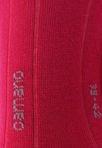 camano - SOFT SNEAKER BOX 7 PACK - Socks - pink melange/white/pink rose/fog melange - 4