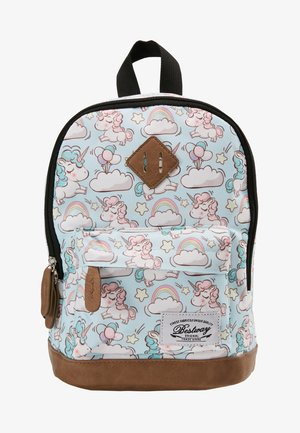 BESTWAY KINDERGARTENBACKPACK - Rucksack - light blue/white